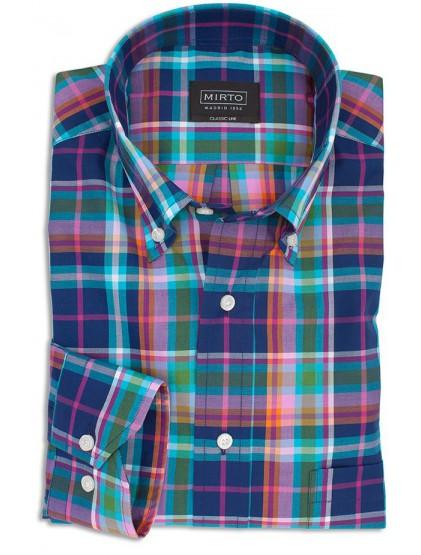 Camisa cuadros Mirto 6249