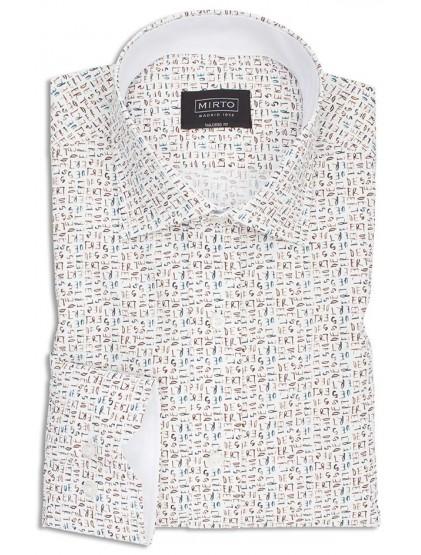 Camisa fantasía Mirto 6337