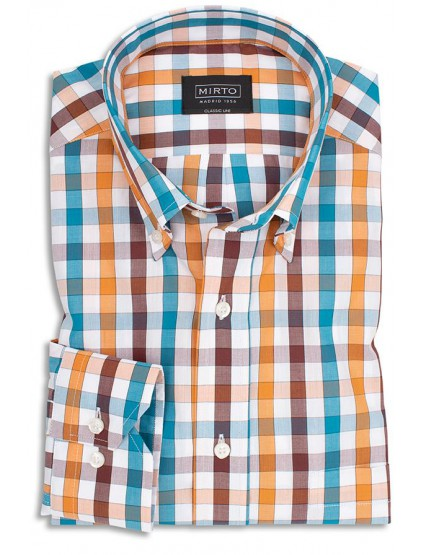 Camisa cuadros Mirto 5887