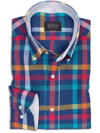 Camisa cuadros Mirto 6027