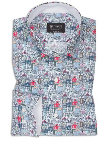Camisa fantasía Mirto 6373