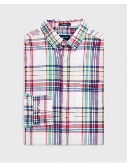 Camisa cuadros Gant 3015730