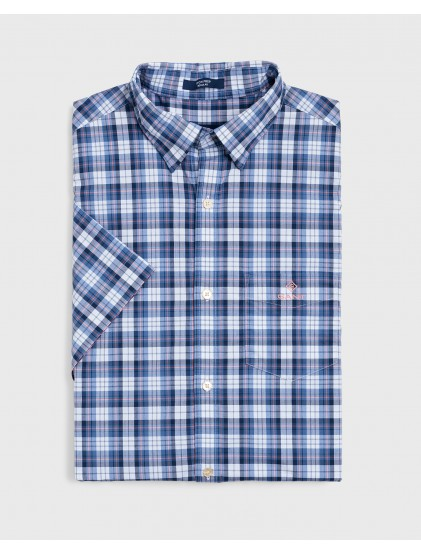 Camisa manga corta cuadros Gant 3018231