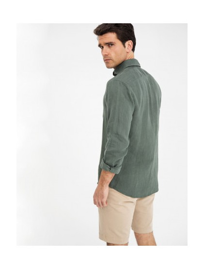 Camisa lino Scotta S190409