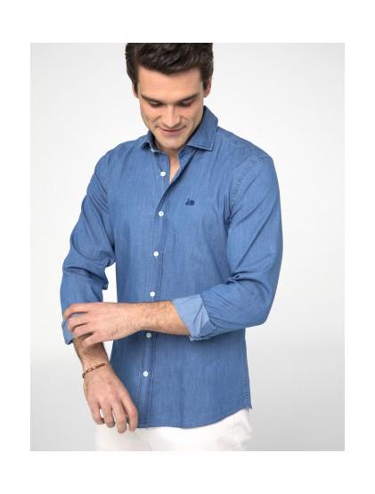 Camisa fantasía denim Scotta S190412