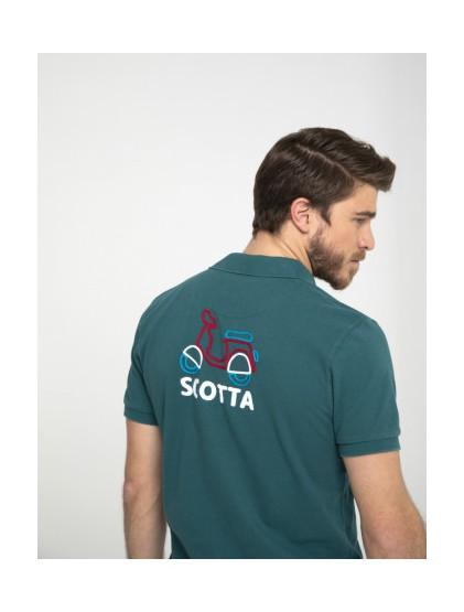 Polo manga corta logo Scotta S190205