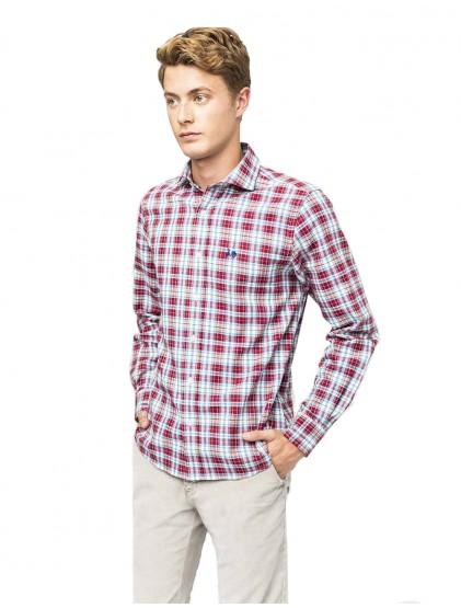 Camisa cuadros Scotta W19040265