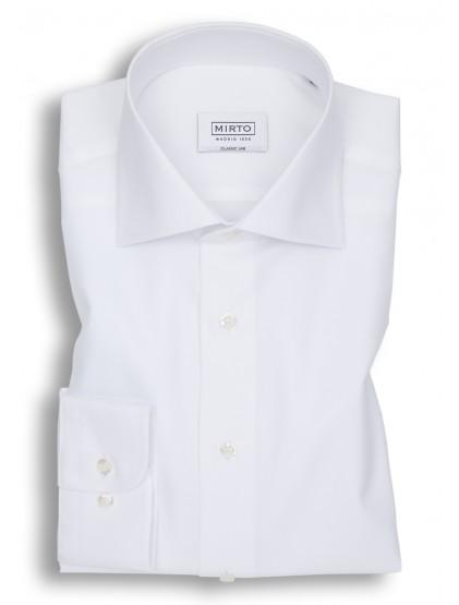 Camisa Mirto Panamá Cuello Italiano Puño Mixto