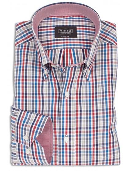 Camisa cuadritos Mirto