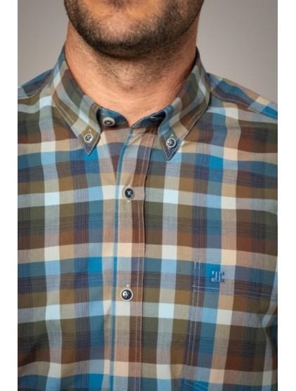 Camisa cuadros Etiem