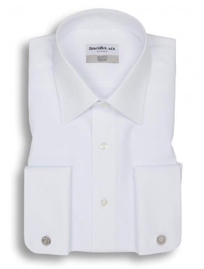 Camisa Tervilor Sir cuello inglés puño doble