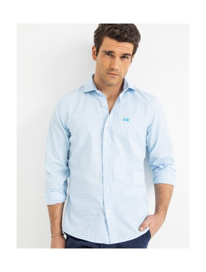 Camisa cuadritos Scotta S190429