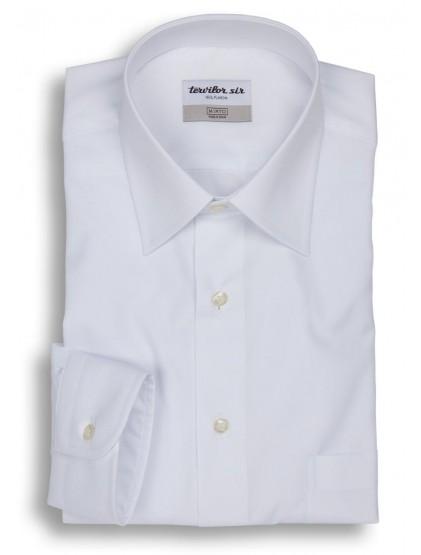 Camisa Tervilor Sir con bolsillo cuello inglés puño mixto