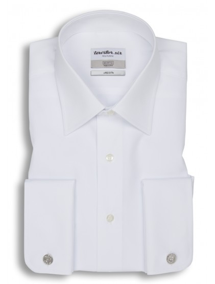 Camisa Tervilor Sir largo extra cuello inglés puño doble