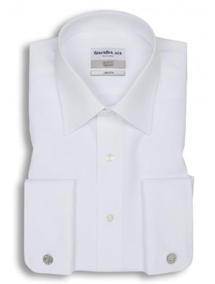 Camisa Tervilor Sir largo extra cuello inglés puño doble