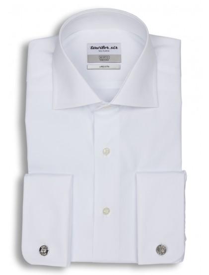 Camisa Tervilor Sir largo extra cuello italiano puño doble