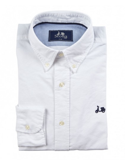Camisa Scotta Oxford Liso