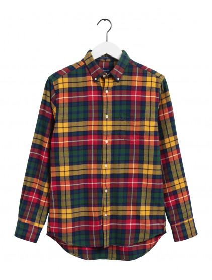 Camisa cuadro franela Gant 3016670