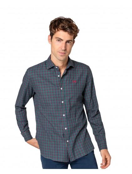 Camisa cuadro Scotta W21040559