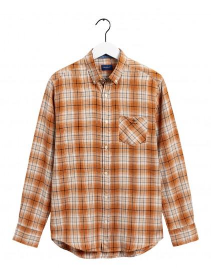 Camisa cuadro franela Gant 3039130